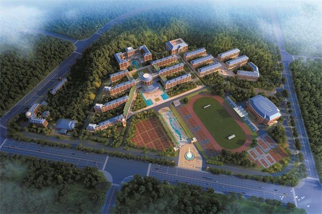 在宜昌新区东站片区,距宜昌东站约3公里的梅花村,未来将成为绿色生态图片